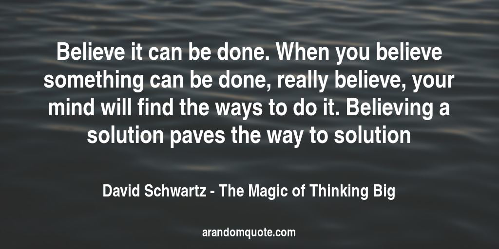 The Big Book Of Quotes: Best Image Quotes From The Magic Of Thinking Big Book