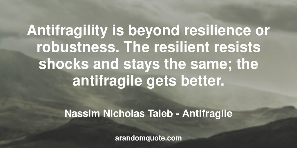 Best image quotes from Antifragile book | A random quote
