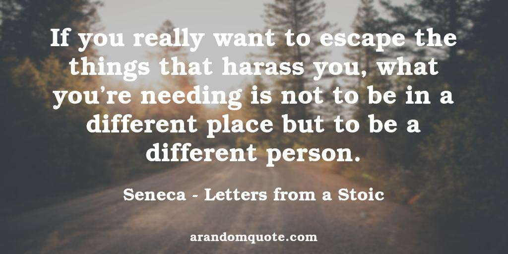 Stoic Quotes Best image quotes from Letters from a Stoic book | A random quote Stoic Quotes