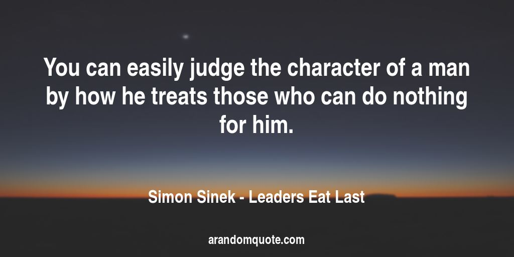 Best Image Quotes From Leaders Eat Last Book A Random Quote